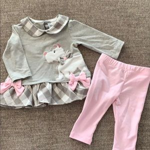 Poodle top and pant set from Von Maur